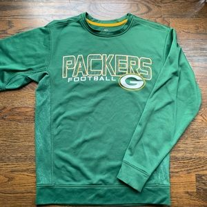 Green Bay Packers crew neck sweatshirt